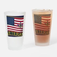 VET LICENSE Drinking Glass