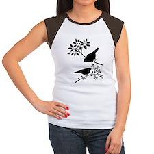 12 Women's Cap Sleeve T-Shirt