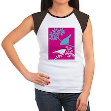 9 Women's Cap Sleeve T-Shirt