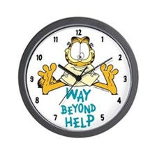 Beyond Help Garfield Wall Clock