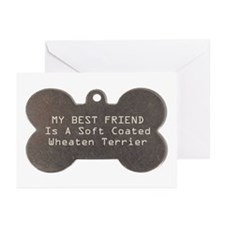 Friend Wheaten Greeting Cards (Pk of 10)