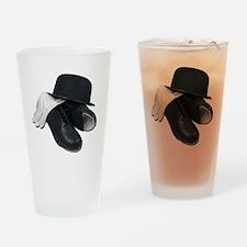 TapShoesBowlerGloves012511 Drinking Glass