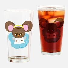 mice angel2 Drinking Glass