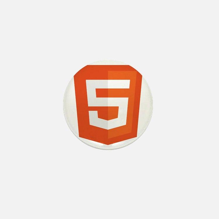 HTML5-Orange Mini Button