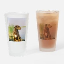 Summer front Drinking Glass