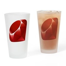 ruby Drinking Glass