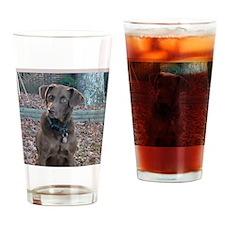hunterlogofront Drinking Glass