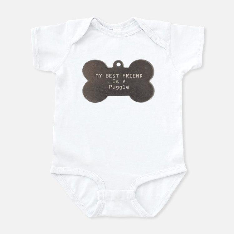 Friend Puggle Infant Bodysuit