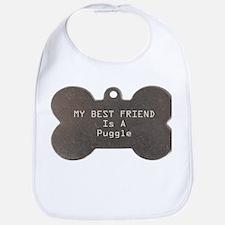 Friend Puggle Bib