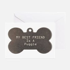 Friend Puggle Greeting Cards (Pk of 10)