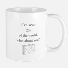 Ive Seen Percent of the World Mugs