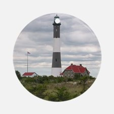 ROBERT_MOSES_STATE_PARK_LIGHTHOUSE_ Round Ornament