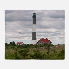 ROBERT_MOSES_STATE_PARK_LIGHTHOUSE_N Throw Blanket