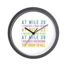 Cool Time kick buts Wall Clock