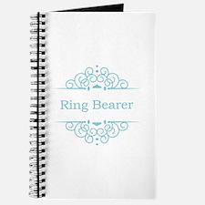 Ring bearer in blue Journal