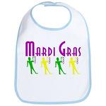 Mardi Gras Child Bib