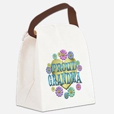 proudgrandma Canvas Lunch Bag