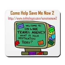 Travel Agency with Logo Mousepad