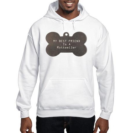 Friend Rottweiler Hooded Sweatshirt