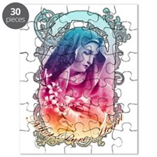 Most Pure Heart of Mary (black vertical) Puzzle