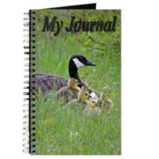 Goslings With Mom Journal