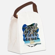 HappyBeach 6x6 Canvas Lunch Bag