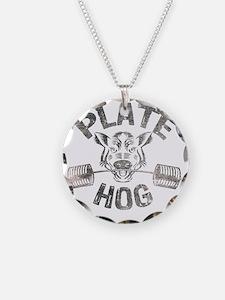 Plate Hog Necklace