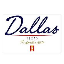 Dallas Script W Postcards (Package of 8)