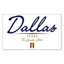 Dallas Script W Decal