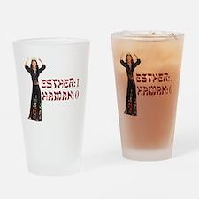 purim Drinking Glass