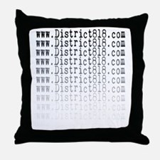 district818_fading Throw Pillow