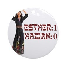 purim Round Ornament