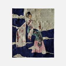 Chang E (Papyrus Ver.) Throw Blanket