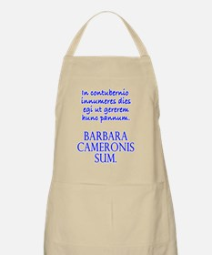 Camping Out Wh Fem Apron