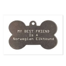 Friend Elkhound Postcards (Package of 8)