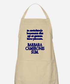 Camping Out Bl Fem Apron