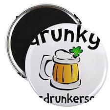 Drunky Beer Magnet
