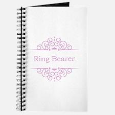Ring bearer in pink Journal