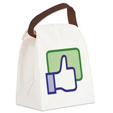 Facebook_Like_Icon_Vector Canvas Lunch Bag