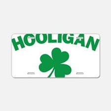 Hooligan Aluminum License Plate
