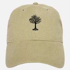 TREE hugger (black) Baseball Baseball Cap