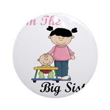 Im The Big Sister Round Ornament