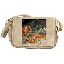 lifes a beach toterev Messenger Bag