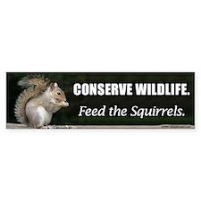 Conserve Wildlife Bumper Stickers
