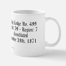 Vlodge license plate copy Mug