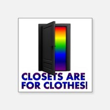 "closets_lt_cp Square Sticker 3"" x 3"""