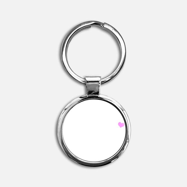 belieber-tshirt-white Round Keychain