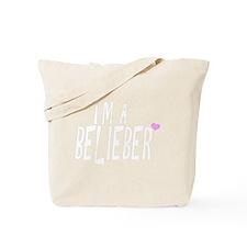 belieber-tshirt-white Tote Bag