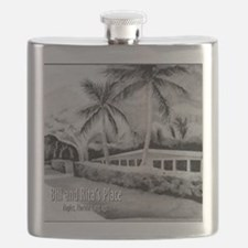 Bill n Ritas Place After the Storm Flask