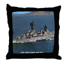 chevalier dd calendar Throw Pillow